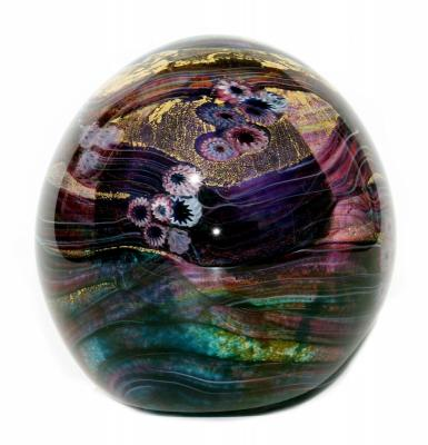 Cased Glass paperweight