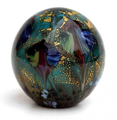 Cosmos Leaf paperweight