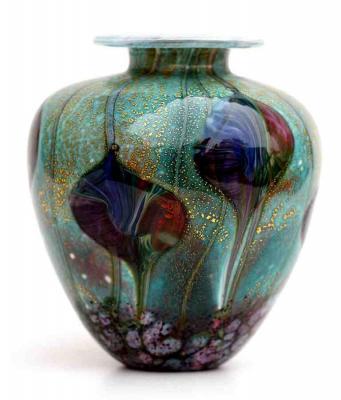 Cosmos Leaf amphora