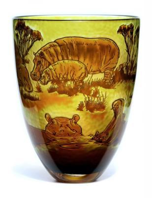 Intrinsic Hippo vase