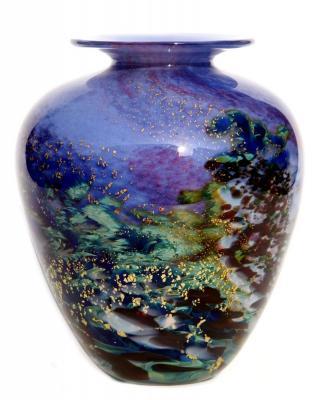 Renoir glass vase