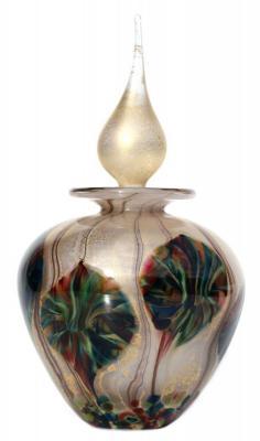 Tigers Eye perfume bottle