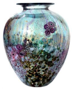 Wilderness Amphora glass vase