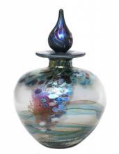 Monet glass perfume bottle